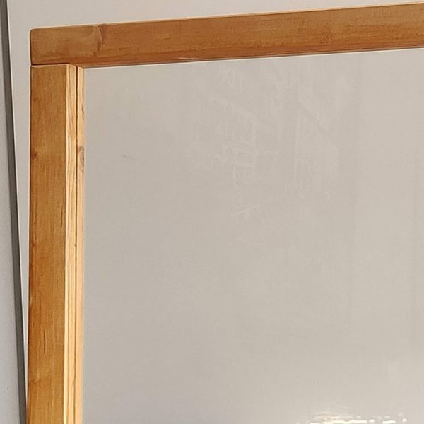 veiligheidsglas in frame